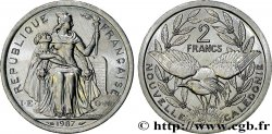 NEW CALEDONIA 2 Francs I.E.O.M. 1987 Paris