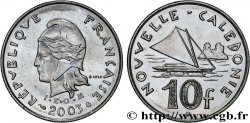 NEW CALEDONIA 10 Francs I.E.O.M. 2003 Paris