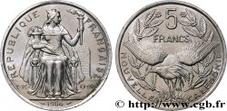 NEW CALEDONIA 5 Francs I.E.O.M. 1986 Paris