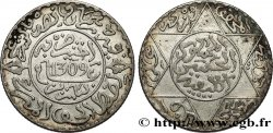 MAROCCO 2 1/2 Dirhams Hassan I an 1309 1891 Paris