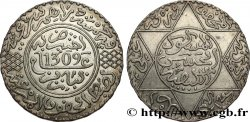 MAROCCO 5 Dirhams Hassan I an 1309 1891 Paris
