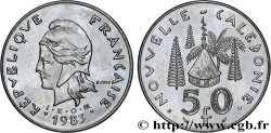 NEW CALEDONIA 50 Francs I.E.O.M. 1983 Paris