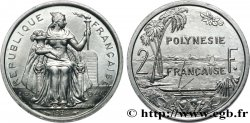 FRENCH POLYNESIA 2 Francs I.E.O.M 1984 Paris