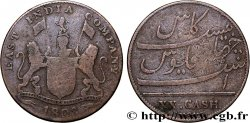 ILE DE FRANCE (MAURITIUS) XX (20) Cash East India Company 1803 Madras