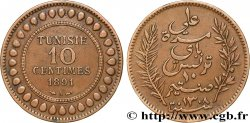 TUNISIA - French protectorate 10 Centimes AH1308 1891 Paris