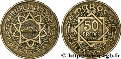 MOROCCO - FRENCH PROTECTORATE 50 Francs AH 1371 1952 Paris