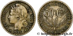CAMEROON - TERRITORIES UNDER FRENCH MANDATE 50 Centimes 1926 Paris