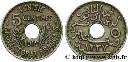 TUNISIA - French protectorate 5 Centimes AH 1337 1919 Paris