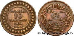 TUNISIA - French protectorate 10 Centimes AH1334 1916 Paris