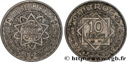 MOROCCO - FRENCH PROTECTORATE 10 Francs AH 1366 1947 Paris