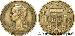 REUNION ISLAND 10 Francs 1955 Paris
