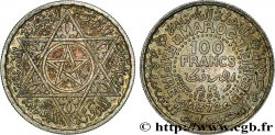 MOROCCO - FRENCH PROTECTORATE 100 Francs AH 1372 1953 Paris