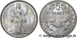 NEW CALEDONIA 5 Francs Union Française 1952 Paris
