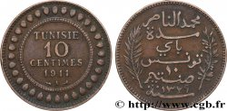 TUNISIA - French protectorate 10 Centimes AH1329 1911 Paris