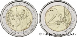 ESPAÑA 2 Euro DON QUICHOTTE 2005 Madrid Madrid