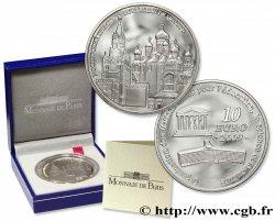 FRANCE Belle Épreuve 10 Euro UNESCO - LE KREMLIN DE MOSCOU 2009 BE