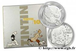 BELGIQUE Belle Épreuve 10 Euro TINTIN - 75 ème ANNIVERSAIRE 2004 Bruxelles