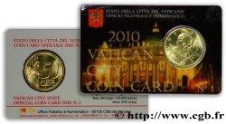VATICAN Coin-Card 50 Cent BENOÎT XVI 2010