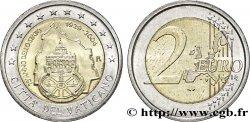 VATICAN 2 Euro 75ème ANNIVERSAIRE DE LA FONDATION DE L'ÉTAT DE LA CITÉ DU VATICAN 2004 MS