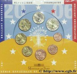 FRANKREICH SÉRIE Euro BRILLANT UNIVERSEL 2006