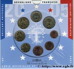 FRANKREICH SÉRIE Euro BRILLANT UNIVERSEL 2005