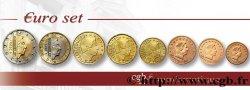 LUXEMBOURG LOT DE 8 PIÈCES EURO (1 Cent - 2 Euro Grand-Duc Henri) 2009