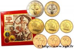 CYPRUS SÉRIE Euro BRILLANT UNIVERSEL - Mosaïques de Paphos 2014