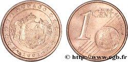 MONACO 1 Cent ARMOIRIES 2001