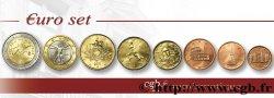 ITALY LOT DE 8 PIÈCES EURO (1 Cent - 2 Euro Anniversaire de l'Unification Italienne) 2011