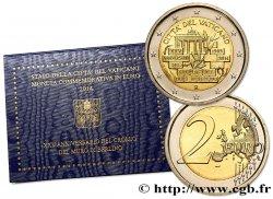 VATIKAN 2 Euro 25e ANNIVERSAIRE DE LA CHUTE DU MUR DE BERLIN 2014
