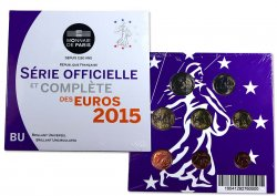 FRANKREICH SÉRIE Euro BRILLANT UNIVERSEL 2015