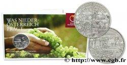 ÖSTERREICH Blister 10 Euro BASSE-AUTRICHE (Niederösterreich) 2013