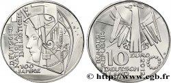 ALLEMAGNE 10 Euro CENTENAIRE DE LA BIBLIOTHÈQUE NATIONALE ALLEMANDE 2012