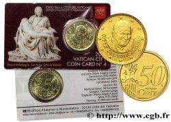 VATIKAN Coin-Card (n°4) 50 Cent PIETÀ DE MICHEL-ANGE 2013