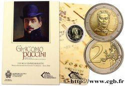 SAN MARINO 2 Euro PUCCINI 2014 Brilliant Uncirculated