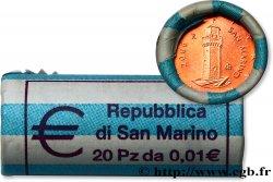 SAN MARINO Rouleau 20 x 1 Cent MONTALE 2006