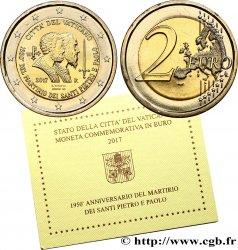 VATIKAN 2 Euro MARTYRE DE SAINT PIERRE ET SAINT PAUL 2017