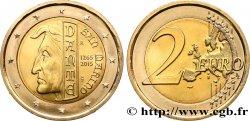 SAINT-MARIN 2 Euro 750e ANNIVERSAIRE DE LA NAISSANCE DE DANTE ALIGHIERI 2015 SPL