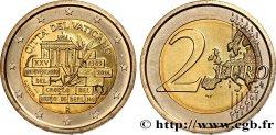 VATICAN 2 Euro 25e ANNIVERSAIRE DE LA CHUTE DU MUR DE BERLIN 2014 Brilliant Uncirculated