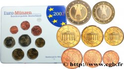 GERMANY SÉRIE Euro BRILLANT UNIVERSEL  - Hambourg J 2002 Hambourg J