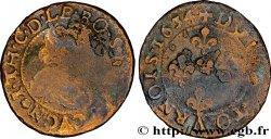 ARDENNES - SEIGNIORY OF CUGNON - JEAN-THEODORE OF LÖWENSTEIN Double tournois avec le grand col de dentelle VF