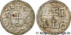 POITOU - COUNTY OF POITOU - COINAGE IMMOBILIZED IN THE NAME OF CHARLES II THE BALD Denier AU