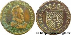 ARDENNES - PRINCIPAUTY OF SEDAN - HENRI OF LA TOUR DAUVERGNE Liard, type 1 (col plat) VF