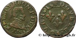 PRINCIPAUTY OF CHATEAU-REGNAULT - FRANCOIS OF BOURBON-CONTI Double tournois, type 18