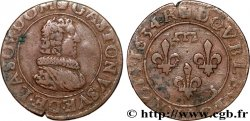 PRINCIPAUTY OF DOMBES - GASTON OF ORLEANS Double tournois, type 8 XF