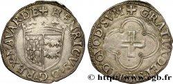 NAVARRE - KINGDOM OF NAVARRE - HENRI OF ALBRET Blanc