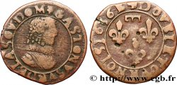 DOMBES - PRINCIPALITY OF DOMBES - GASTON OF ORLEANS Double tournois, type 8 VF