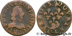 PRINCIPAUTY OF CHATEAU-REGNAULT - FRANCOIS OF BOURBON-CONTI Double tournois, type 8 MB
