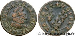 PRINCIPAUTY OF CHATEAU-REGNAULT - FRANCOIS OF BOURBON-CONTI Double tournois, type 12