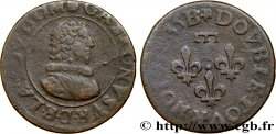 PRINCIPAUTY OF DOMBES - GASTON OF ORLEANS Double tournois, type 8 q.MB